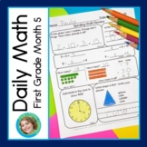 Daily Math for First Grade Month 5