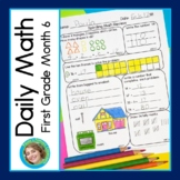 Daily Math for First Grade Month 6