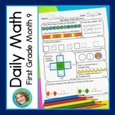 Daily Math for First Grade Month 9
