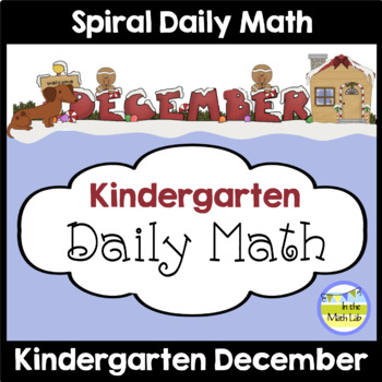Morning Work | Kindergarten Math