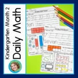 Daily Math for Kindergarten Month 2