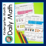 Daily Math for Kindergarten Month 3