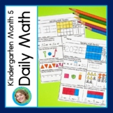 Daily Math for Kindergarten Month 5