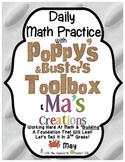 Daily Math with Poppy & Buster's Toolbox & Ma's Creations For:  May