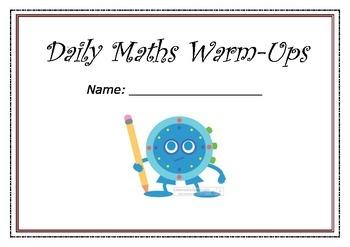 Daily Maths Warm-ups Freebie