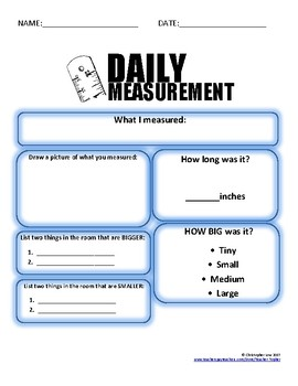 Daily Measurement (inches) FREE