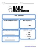 Daily Measurement (feet) FREE
