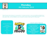 Back to School - Daily Memo Powerpoint (Editable)