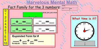 Daily Mental Math SMART File