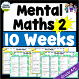 Daily Mental Maths 2 | Grade 4 & 5 | NO PREP | #hotdeals