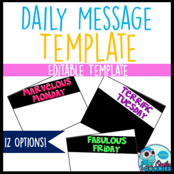 Daily Message PowerPoint Template