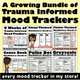 Daily Mindfulness Check-Ins Bundle:  REBT, CBT