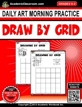 Daily Morning Art Practice by Grid