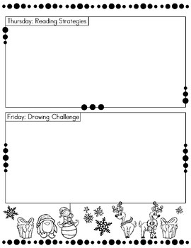 Daily Morning Bell Work Graphic Organizer BUNDLE