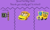 Daily Morning Greetings for SmartBoard - September