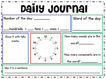 Daily Morning Journal