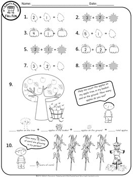 Fall Fun Math