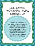 Daily Morning Math Work Spiral Review CMC Level C Lessons 61-70