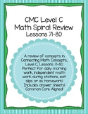 Daily Morning Math Work Spiral Review CMC Level C Lessons 71-80