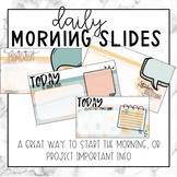 Daily Morning Slides