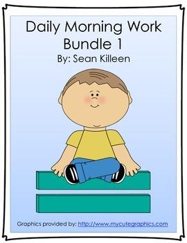 Daily Morning Work Bundle 1