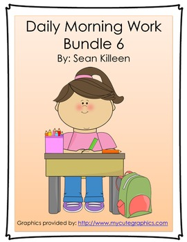 Daily Morning Work Bundle 6