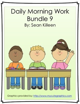 Daily Morning Work Bundle 9