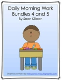 Daily Morning Work Bundles 4 and 5