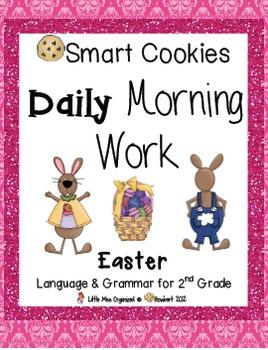 Daily Morning Work, Easter, Rodeo, & Summer Bundled Set, Smart Cookies