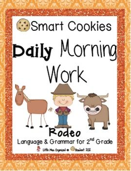 Daily Morning Work, Easter, Rodeo, & Summer Bundled Set, Smart Cookies