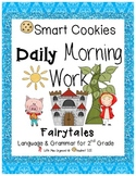 Daily Morning Work Fairytale Smart Cookies!
