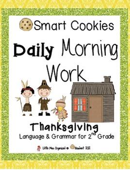 Daily Morning Work, Fall Bundled Set, Smart Cookies
