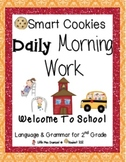 Daily Morning Work, Fall Bundled Set, Smart Cookies