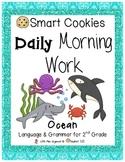 Daily Morning Work Ocean Smart Cookies!