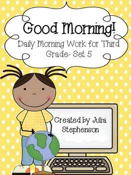 Daily Morning Work- Set 5