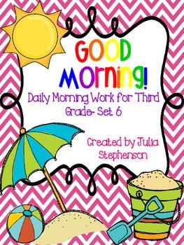 Daily Morning Work- Set 6