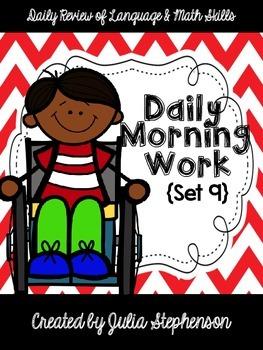 Daily Morning Work- Set 9