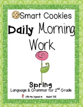 Daily Morning Work, Spring Bundled Set, Smart Cookies