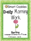 Daily Morning Work Spring Smart Cookies!