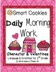 Daily Morning Work, Winter Bundled Set, Smart Cookies