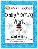 Daily Morning Work Wintertime Smart Cookies!