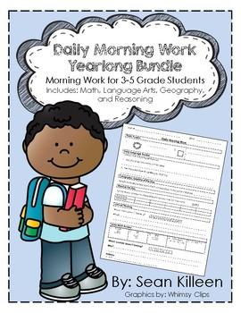 Daily Morning Work Yearlong Bundle