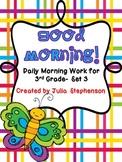 Daily Morning Work- Set 3