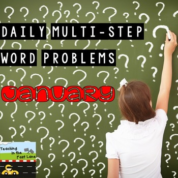 Multi-Step Story Problems for January