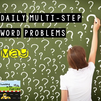 Multi-Step Story Problems for May