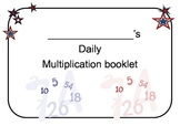 Daily Multiplication Practice Booklet