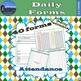 Daily Necessities Forms - The Basic Day to Day Forms for Running a Classroom