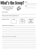 Current Events and Daily News Worksheet