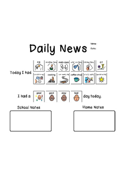 Daily News (Parent Communication)
