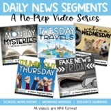 Daily News Segments - A Video Series